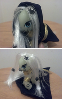 Nightmare Night Zecora Brushable Custom by NerdyMind