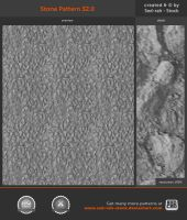 Stone Pattern 32.0 by Sed-rah-Stock