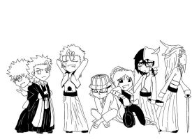 Bleach harem xD by BezimiennyIchigo