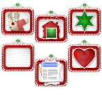 Christmas Folder icons by elsie432