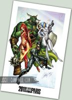 2011 PARIS Print by J-Scott-Campbell