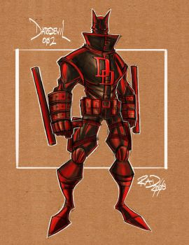 Daredevil Sketch 002 by RobDuenas
