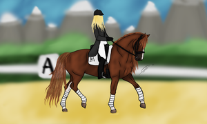 AWS Competition: Dressage - Day 3 by Unyse