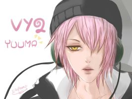 VY2 Yuuma / Yuma vocaloid by RhapsodyTemptation