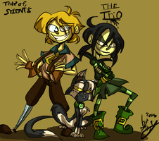 Silent's little Trio by Freakly-Show