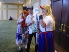 AWA '13: ZUN and the Oni by NaturesRose
