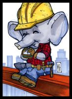 Sketch Card-A-Day 2013: 022 by lordmesa