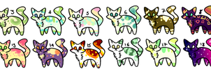 18 Cheap Cat Adopts ||12/18 Open|| by NyanNyanAdopts