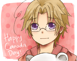 [Hetalia] Happy Canada Day! by caeths