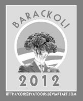 Barackoli Campaign Poster by Conservatoons