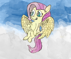 Soaring the Clouds by PhillipthePuma