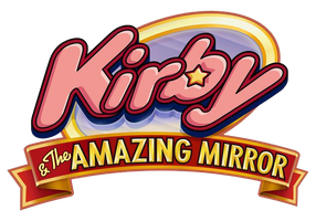 Kirby and the Amazing Mirror logo by RingoStarr39