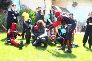 ColossalCon 2014 - Marvel Photoshoot 09 by VideoGameStupid