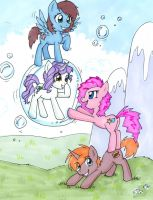 PlotTwist the Pegasus and her friends by zaionczyk