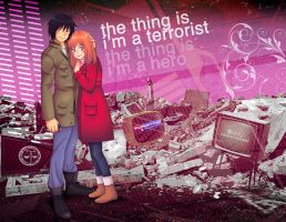 The Thing Is I'm a Hero by peace-of-hope