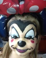 minnie mouse by carlmann