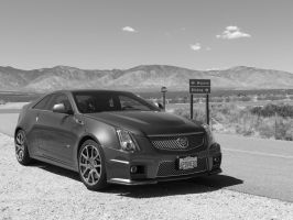 Mojave Run in a Cadillac CTS-V by jmasker