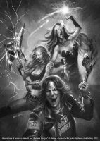Metal heroes by FedericoMusetti