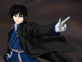 Roy Mustang by Black-Avenger