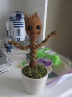 Baby Groot by xdarkshade