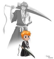 Bleach Part I - Ichigo by DarkeningFire
