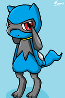 Riolu (paint) by Riolu4aural