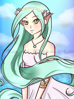 Yve, the Elf by mianamaxi