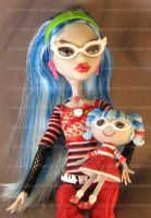 Ghoulia Yelps Lalaloopsy 2 by enchantress41580