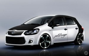 Toyota Auris Tuning by pddeluxe