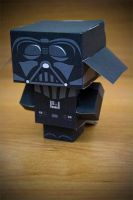 CubeCraft Darth Vader by digital-uncool