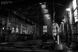 Abandoned power plant by Nosfist