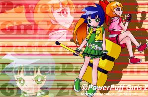 PowerPuff Girls Z Blossom To Buttercup by Shintaroo