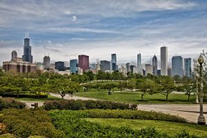 Chicago from Museum Campus by arnaudperret