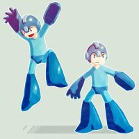 MegaMan by MattJWood