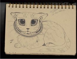 Cheshire Cat by CallMeLyssa