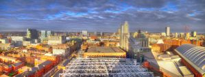 Manchester Skyline HDR by NickField
