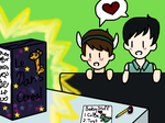 Dil and Phil: Baby and Papa's Problem by LittleDesertStar