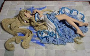 Chobits Floorpainting Angels3 by Mako-chan89
