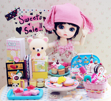 sweets for sale by cyristine