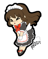 Meido Fart by glance-reviver