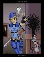 Jill and a Corpse by hombre-blanco