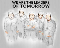 We are Future Leaders - Drawing Practice by SirImran