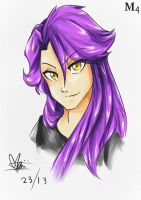 Quick Draw: yes people purple is manly by Marini4