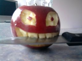 Evil Apple by yrzael