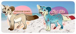 Beach Puppies Adopts (CLOSED) by JollyMutt
