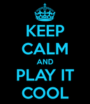 Keep Calm, dude by Hzij