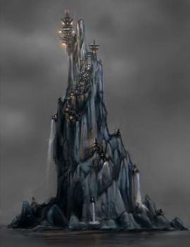 Castle Concept 002 by studentsofcogswell