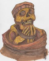 Inca Mummy by metrosexual-werewolf