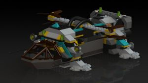 Tunnel Transport Front in Final Colors by Tau-Crisis