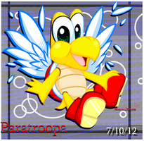 MS Paint, Fanart: Paratroopa by Bowser2Queen